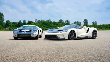 Ford GT Heritage Edition - twin front