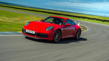 Porsche 911 Carrera S track front