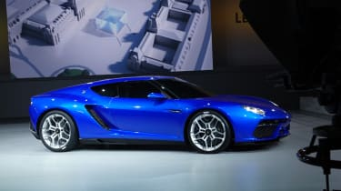 Lamborghini Asterion unveiled at the Paris motor show