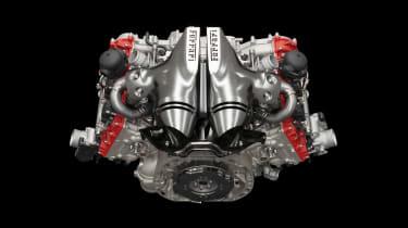 2022 Ferrari 296 GTB – engine