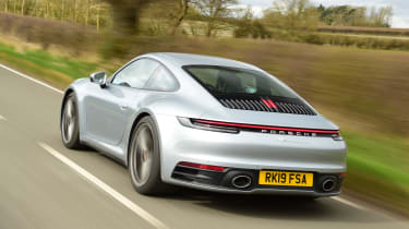 Porsche 911 Carrera S GT sliver