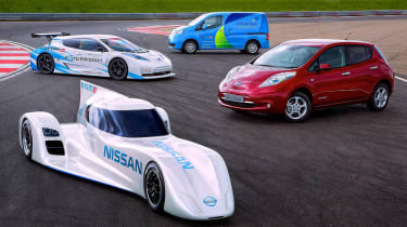 Nissan ZEOD RC electric Le Mans racer Nissan Leaf