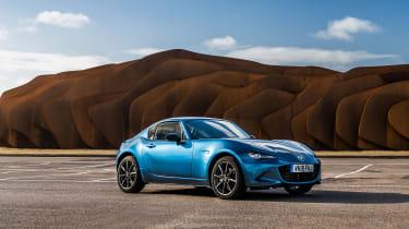 Mazda MX-5 RF Sport Black – front quarter