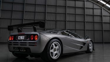McLaren F1 LM Specification rear