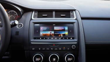 Jaguar E-Pace - infotainment