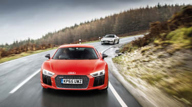 Sub-supercar group test - R8
