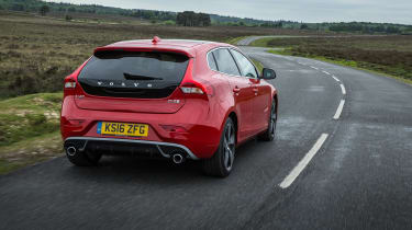 Volvo V40 2016 facelift - Rear