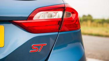 2018 Ford Fiesta ST - badge