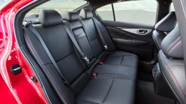 Infiniti Q50 - rear seats