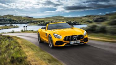 Mercedes-AMG GT S Roadster – front quarter