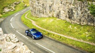 Porsche 911 Carrera S manual blue - high