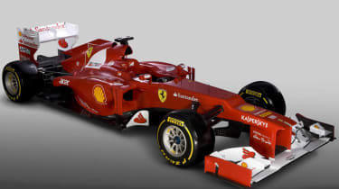 Ferrari's 2012 Formula 1 car revealed