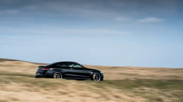 Mercedes-AMG C63 S Coupe black - pan