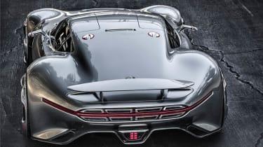 Mercedes AMG Vision Gran Turismo rear view