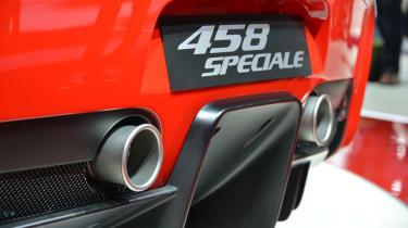 Ferrari 458 Speciale rear diffuser