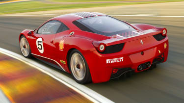 Ferrari 458 Challenge racing supercar
