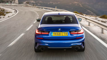 BMW 320d M Sport 2019 driving