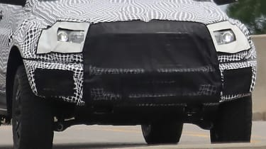 Ford Ranger Raptor spy - front close