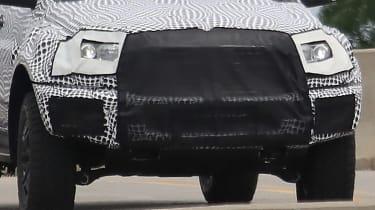 Ford Ranger Raptor spy - front close