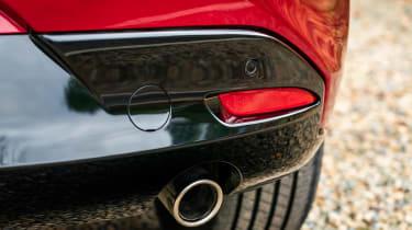 2019 Mazda 3 exhaust