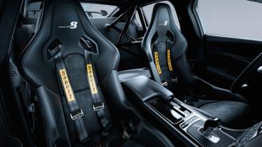 Jaguar XE SV Project 8 belts