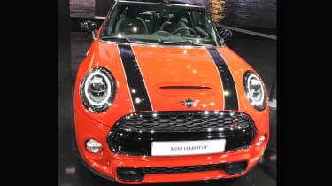Mini Cooper facelift - front