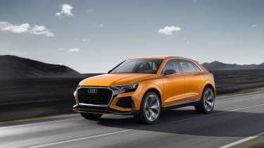 Audi SQ8 - front tracking