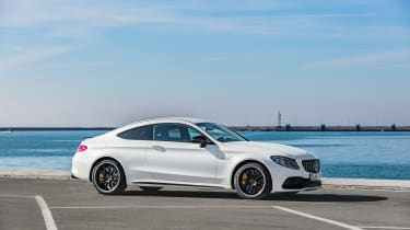 Mercedes-AMG C 63 S Coupe - white static profile