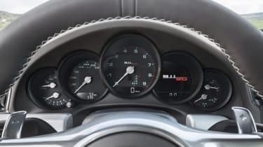 Porsche 911 50th Anniversary Edition dials