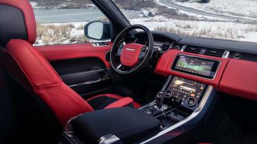 Range Rover Sport Ingenium interior