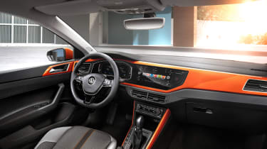 2017 Volkswagen Polo - R-Line interior