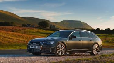 Audi A6 Estate S-Line - quarter