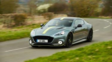 Aston Martin Rapide AMR corner