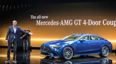 Mercedes-AMG GT 63 S - live