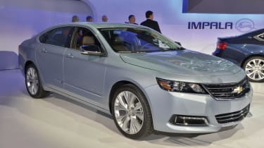 2013 Chevrolet Impala live at the show