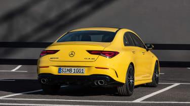 Mercedes-AMG CLA35 - rear quarter