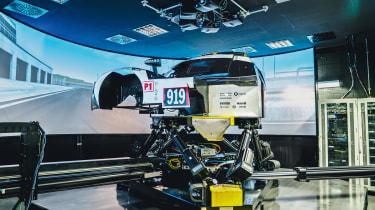 Porsche 919 Hybrid simulator