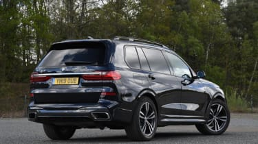 BMW X7 review - rear static