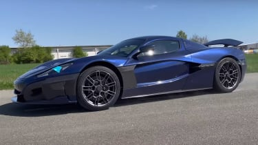 Rimac C_Two acceleration tests