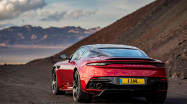 Aston Martin DBS Superleggera - rear