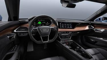 Audi e-tron GT quattro - dash