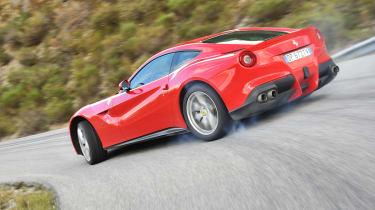 Ferrari F12 Berlinetta drift