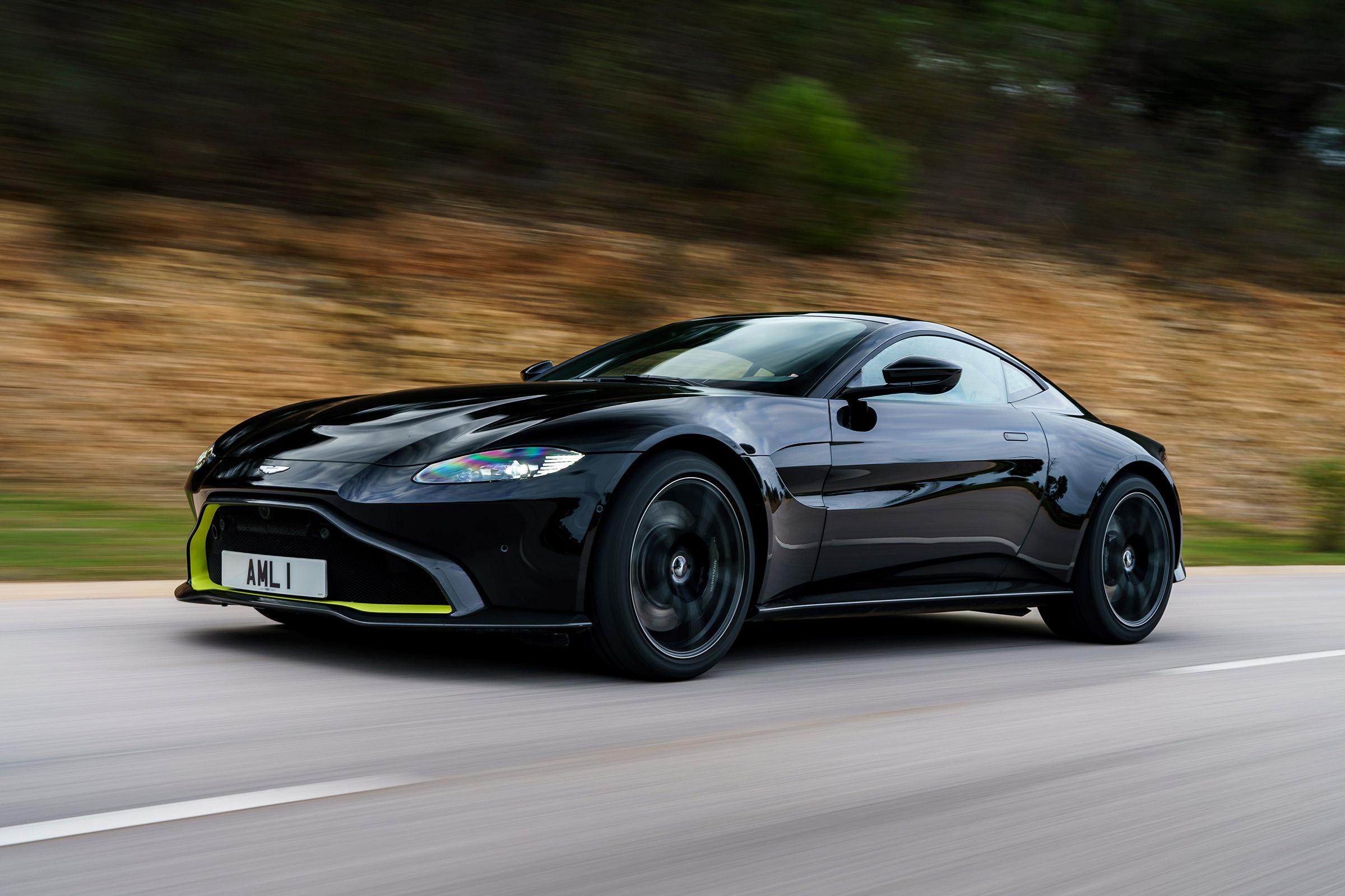 New 2018 Aston Martin Vantage Review Vantage Leaves An