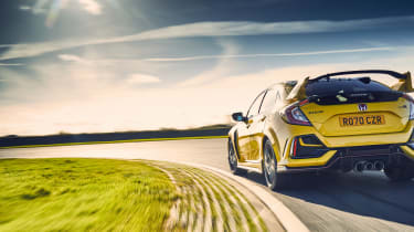 Honda Civic Type R Limited Edition MY21 – rear tracking