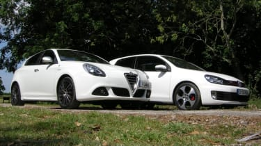 Alfa Giulietta group test twin