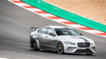 Jaguar XE SV Project 8 - front quarter