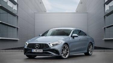 2021 Mercedes CLS53 – front quarter static