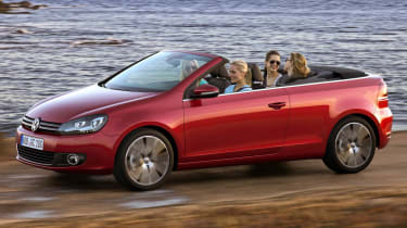 Volkswagen Golf mk6 Cabriolet news and pictures