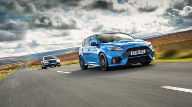 Ford Focus RS - front tracking
