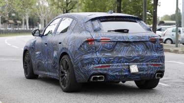 2022 Maserati Grecale Trofeo prototype – rear
